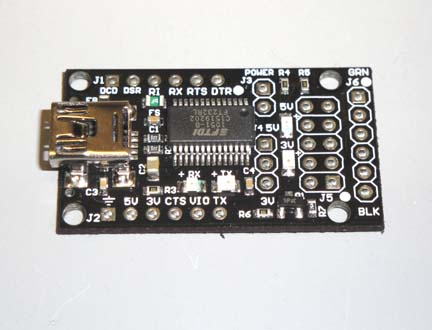 Firebird32-UTB ( USB to TTL Breakout )